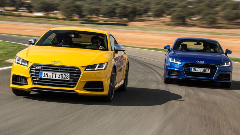 Audi TT And TTS First Drive Review Things We Learned - Audi car 2016