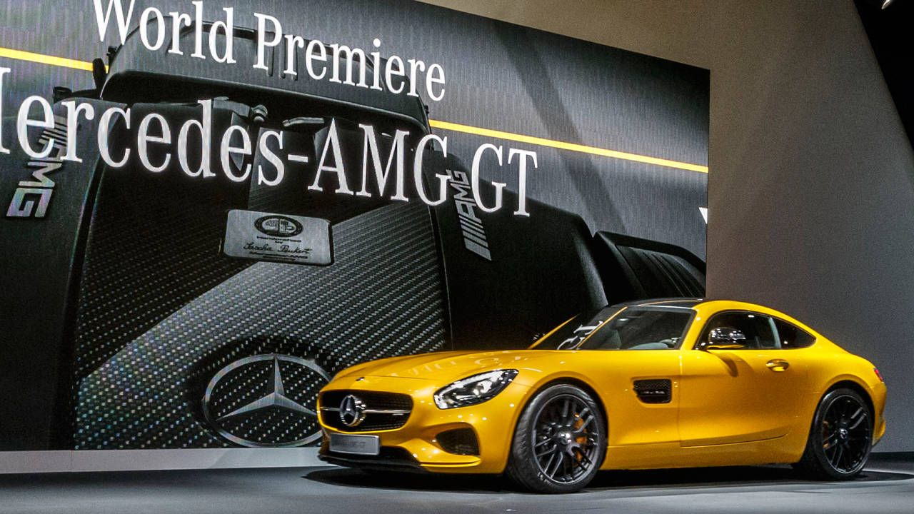 Get under the skin of the 2016 Mercedes-AMG GT S