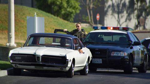 Land vehicle, Vehicle, Car, Classic car, Emergency service, Police, Emergency vehicle, Police car, Law enforcement, Security,