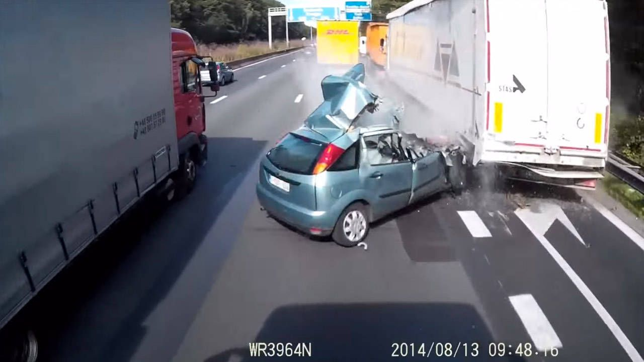 Blindly pass tractor trailers, and bad stuff happens
