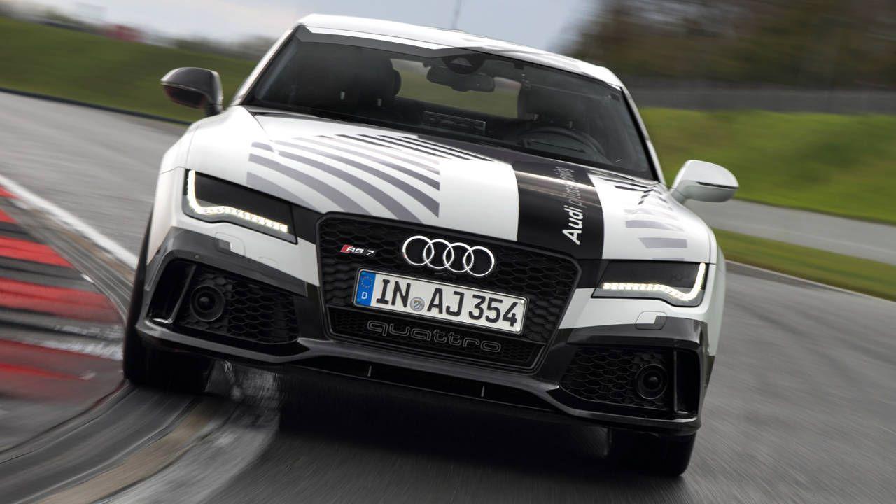 Driverless Audi RS 7 will hit 150 mph around Hockenheim