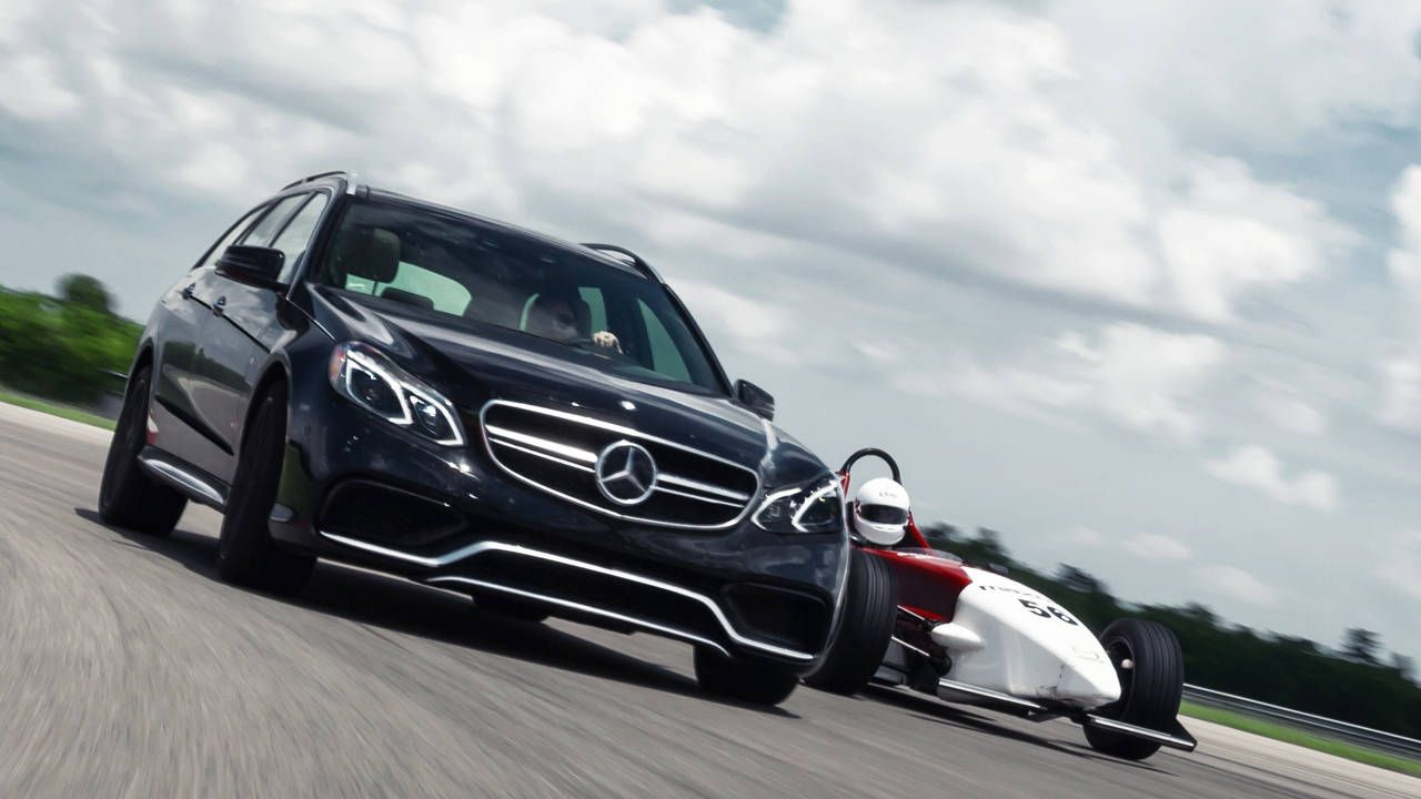 Wagon vs Race Car: The last hurrah for our Mercedes-Benz E63 AMG