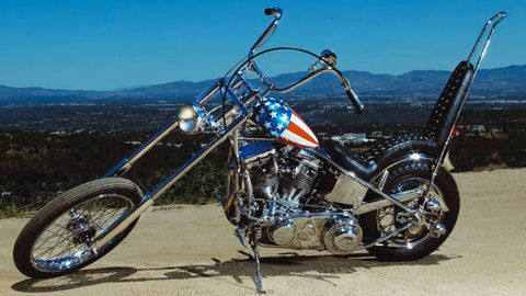 Easy Rider Chopper Sells For Record $1.35 million - Might Be ... on