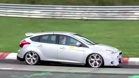 Ford Focus Awd >> Video 2016 Focus Rs Shows Off Awd Chops
