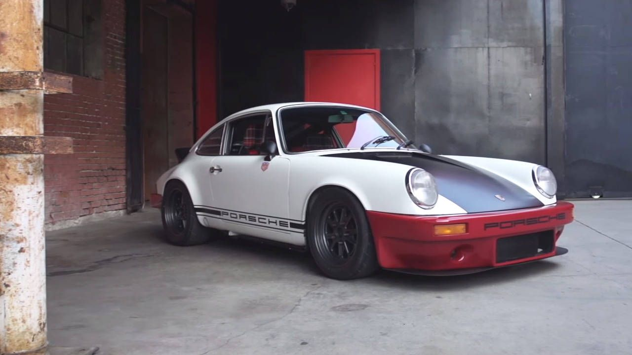 Magnus Walker built this Porsche 911 in 6 weeks on the cheap