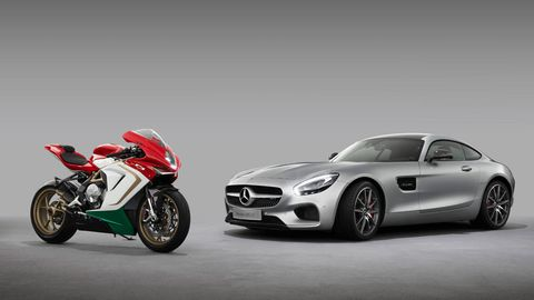 Mercedes Amg Buys Part Of Ducati Competitor Mv Agusta