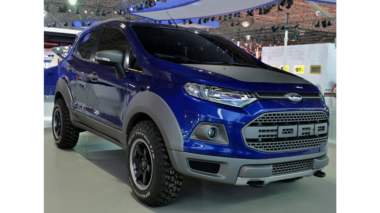 The Ford Fiesta-based baby Raptor we want