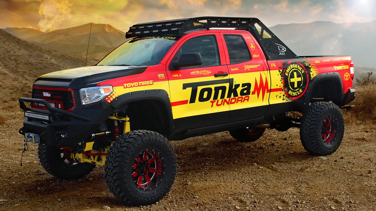 Toyota Tonka Tundra is a grown-up toy done right