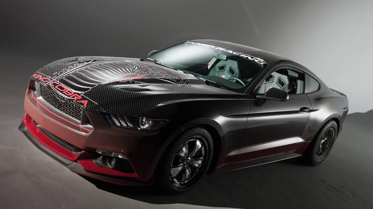 Anyone can build Ford Racing's sub-11 second King Cobra Mustang