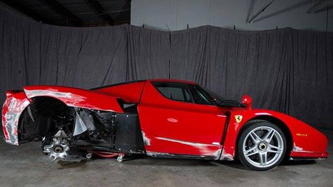 Ferrari Enzo for sale, needs a little work