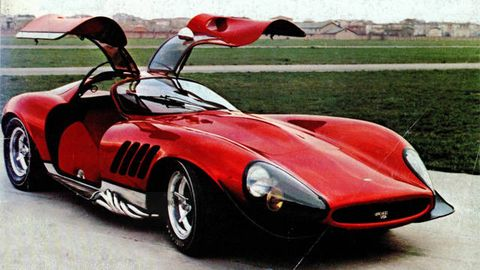 Tom Meades Wild Ferrari Thomassima Was The P Of Its Day - Gentilini ford car show 2018