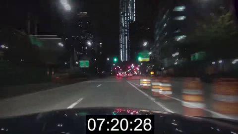 Mode of transport, Road, Infrastructure, Night, Asphalt, Atmosphere, Road surface, Technology, Line, Glass,