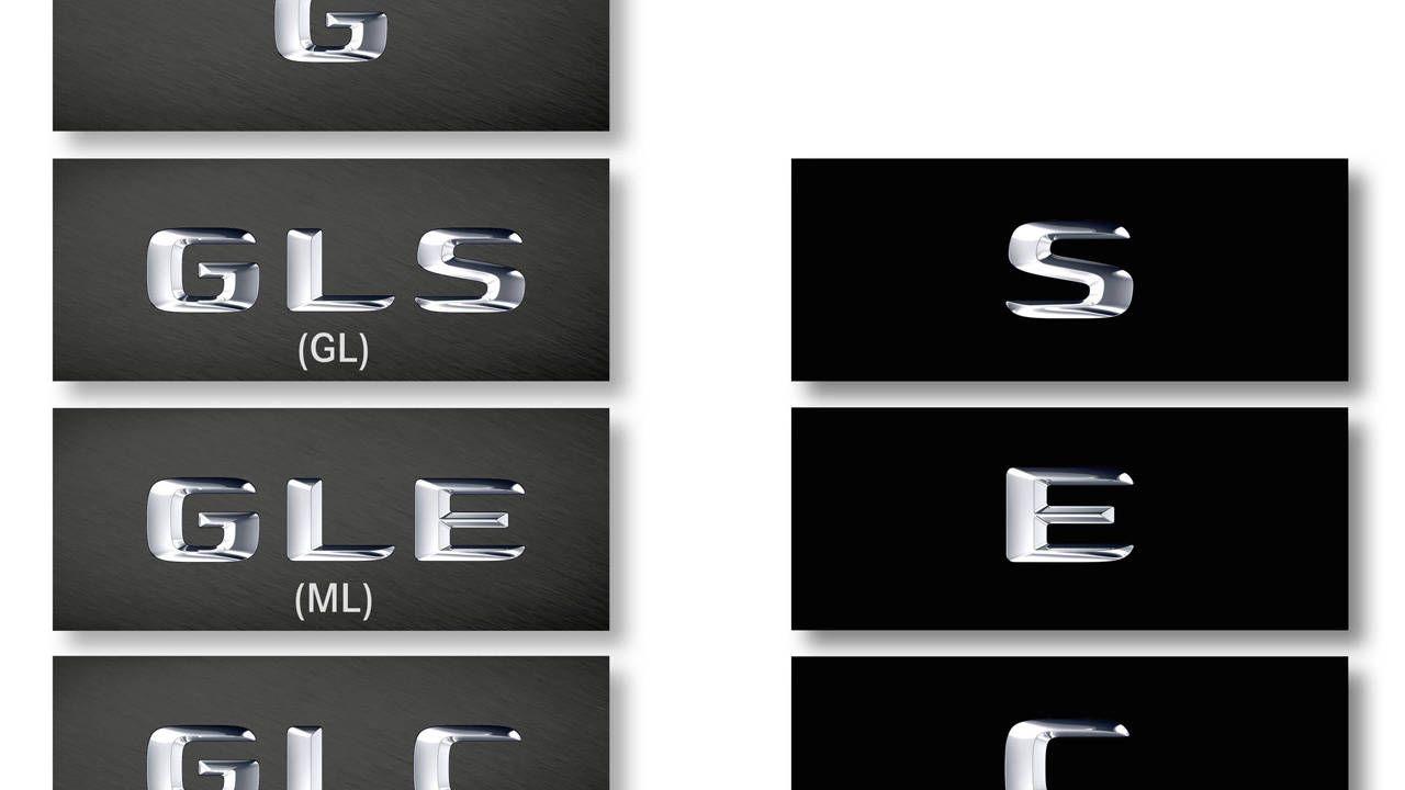 Let us explain: Mercedes-Benz adopts a new naming scheme