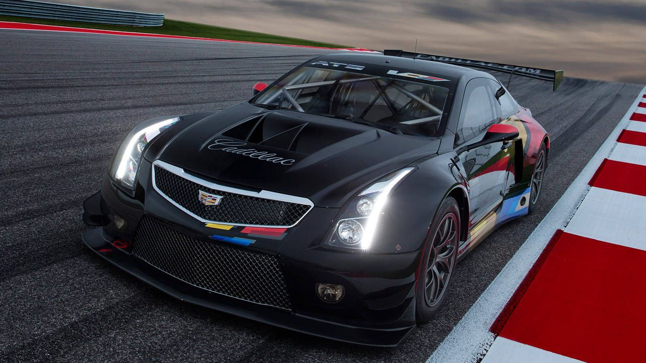 600 hp cadillac ats v r ready to terrorize racetracks in 2015