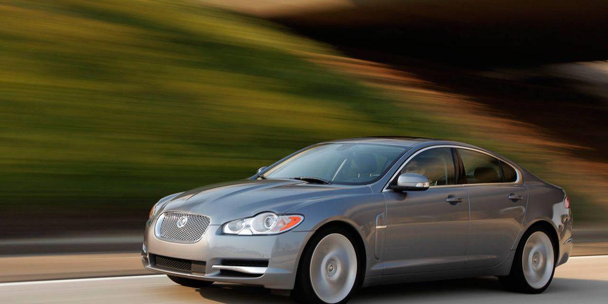 2009 jaguar xf supercharged 0-60