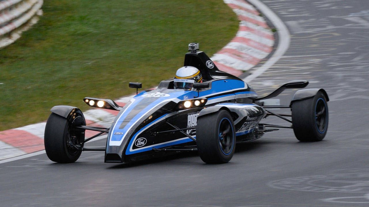 Ford Sets Nurburgring Record With 1 Liter Formula Ford