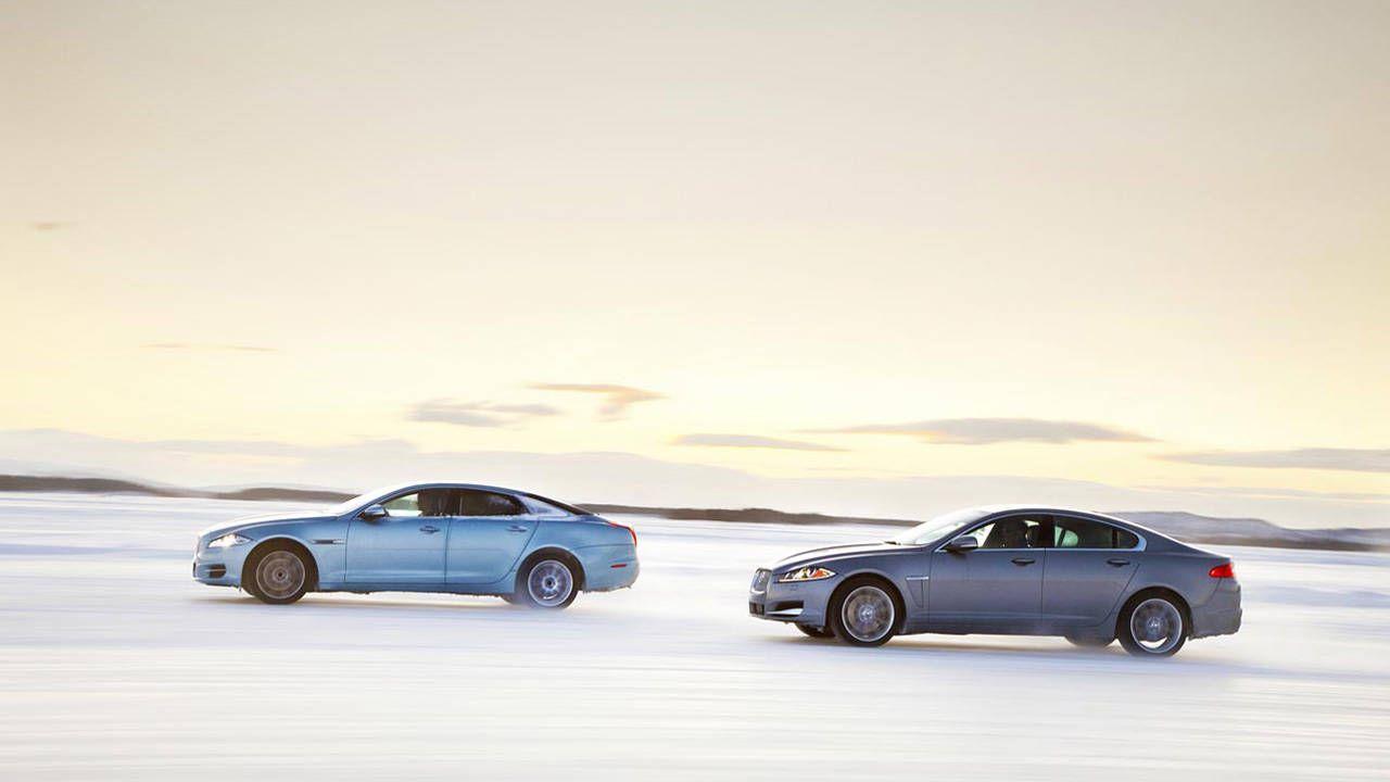 driven: 2013 jaguar xf and xj