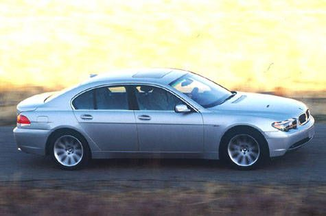 Road Test Of The 2002 BMW 745i