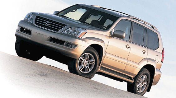 First test: 2003 lexus gx 470 motor trend.
