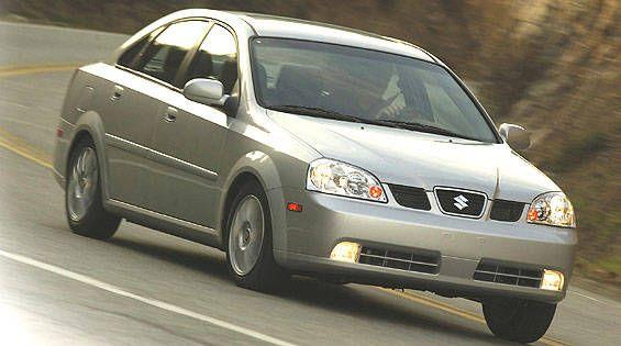 Suzuki Forenza LX First Drive  Full Review of the New Suzuki