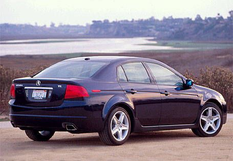 Road Test Of The 2004 Acura TL