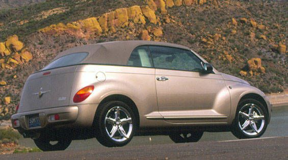 Chrysler pt cruiser convertibles