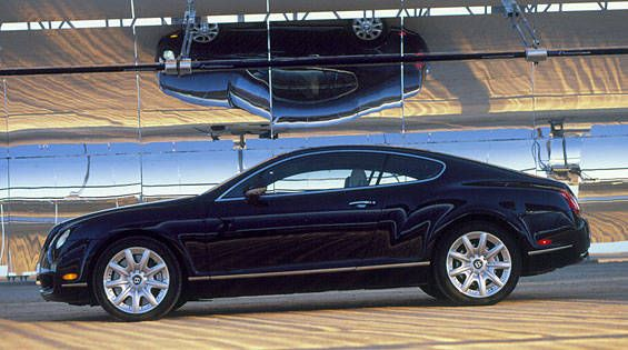 road test of the 2004 bentley continental gt - full authoritative