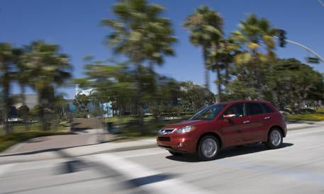 Road Test Of The Acura RDX Full Authoritative Test Of The - Acura 2007 rdx
