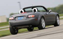 Changing Tires on the Mazda MX-5 Miata