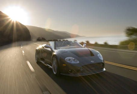 Road Test of the 2006 Spyker C8 Spyder- Full Authoritative
