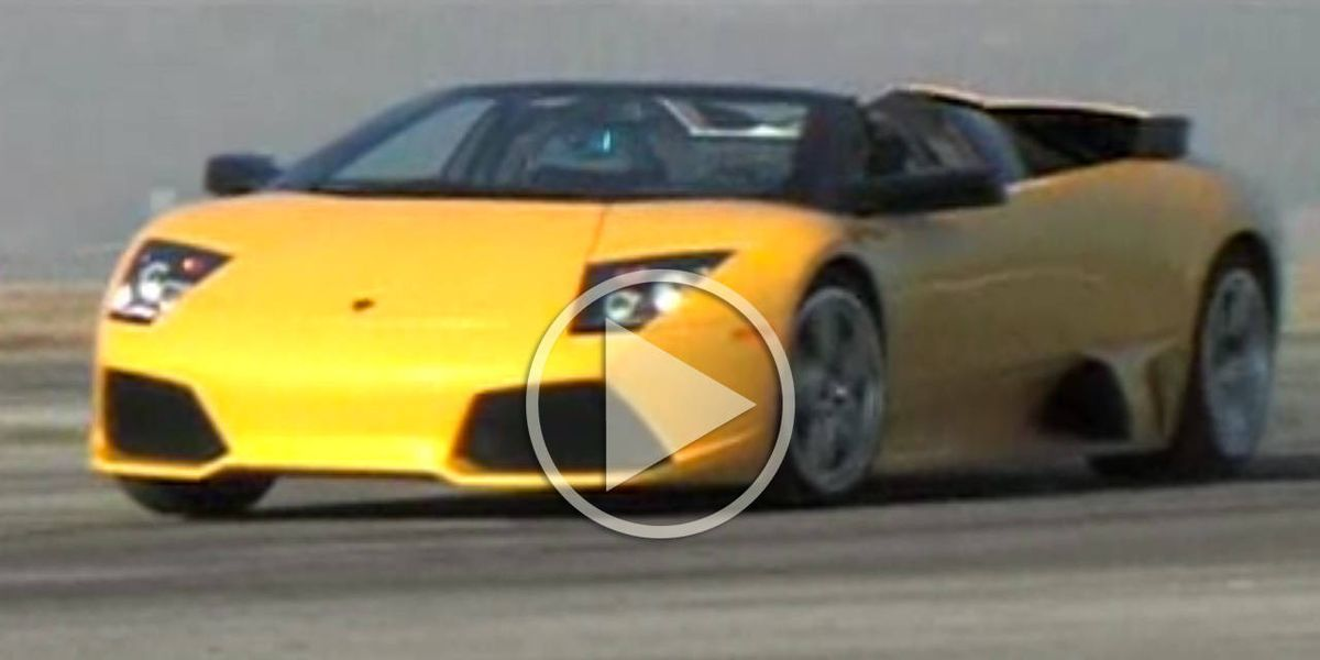 Exclusive Video Lamborghini Murcielago Lp640