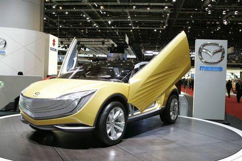 Motor vehicle, Automotive design, Vehicle, Car, Fender, Auto show, Concept car, Exhibition, Automotive lighting, Automotive parking light,