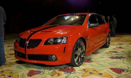 2007 Sema Show Pontiac G8 Unique Special Edition