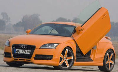 HPA's Twin-Turbo Audi TT