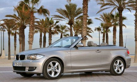 Valencia Spain It S Not Easy To Think Of A Direct Compeor For Bmw 125i Convertible After All Most 4 Seat Convertibles In The U Are Either