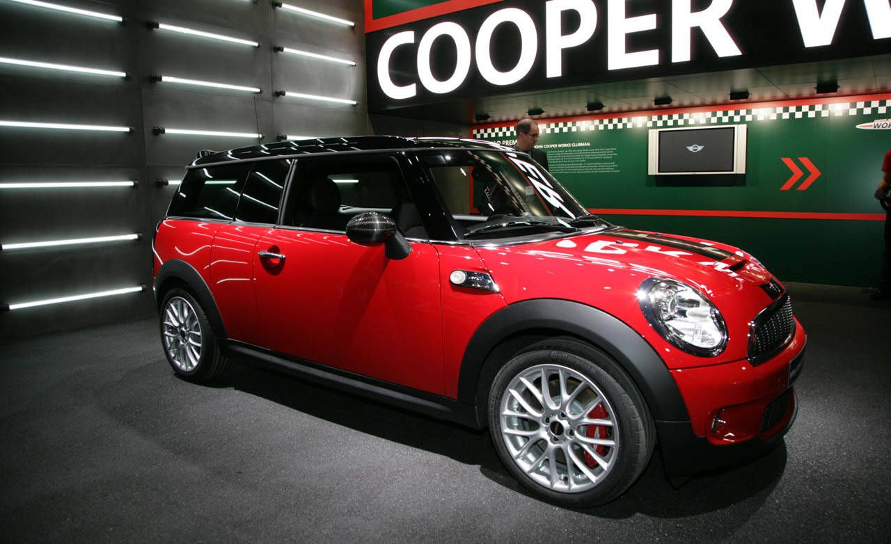 2009 Mini Cooperclubman Jcw