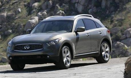 First Look At The New 2009 Infiniti Fx50 And Fx35 Photos And Just