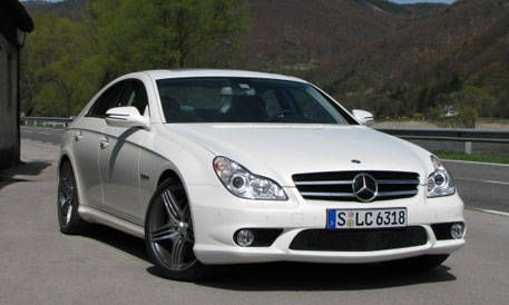 first look at the new 2009 mercedes benz cls63 amg photos and just released details. Black Bedroom Furniture Sets. Home Design Ideas
