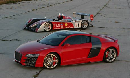 First Look at the New Audi R8 TDI Le Mans - Photos and Just-Released ...