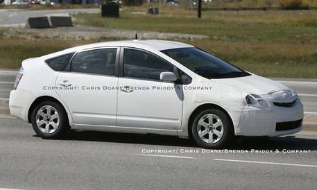 Exposed 2009 Toyota Prius