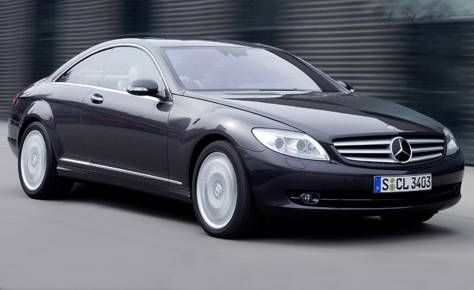 2009 mercedes cl 550
