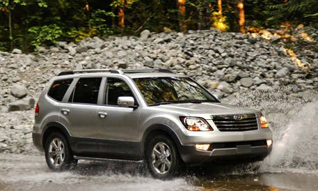 First Look At The New 2009 Kia Borrego Photos And Just Released