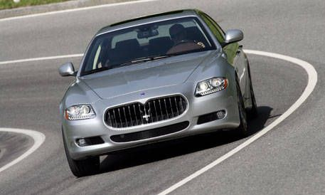 first look at the new 2009 maserati quattroporte s - photos and just