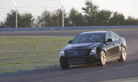 View The Latest First Drive Review Of The 2009 Cadillac Cts V Find