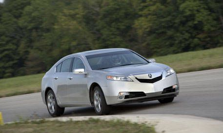 View The Latest First Drive Review Of The Acura TL SHAWD MT - Acura tl competitors