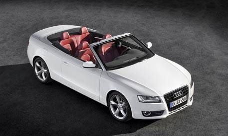 First Look At The New 2010 Audi A5 And S5 Cabriolet Photos And