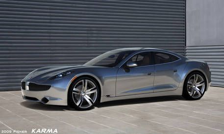 Fisker Automotive Has Taken The Wraps Off Its Final Fully Driveable Production Car To Be Officially Unveiled At North American International Auto