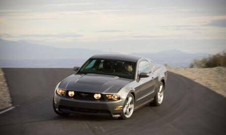 Mustang Gt 2010 Ford Mustang Road Test