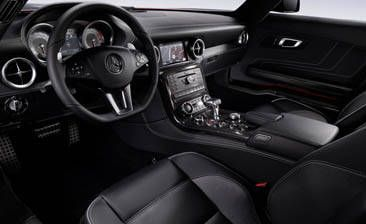 2010 Mercedes-Benz SLS AMG: Interior Revealed