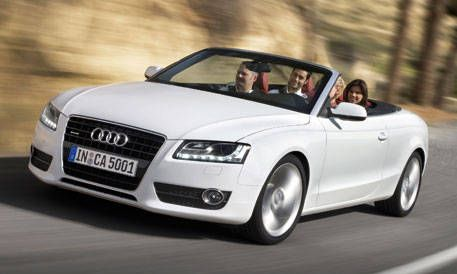 View The Latest First Drive Review Of The 2010 Audi A5s5 Cabriolet